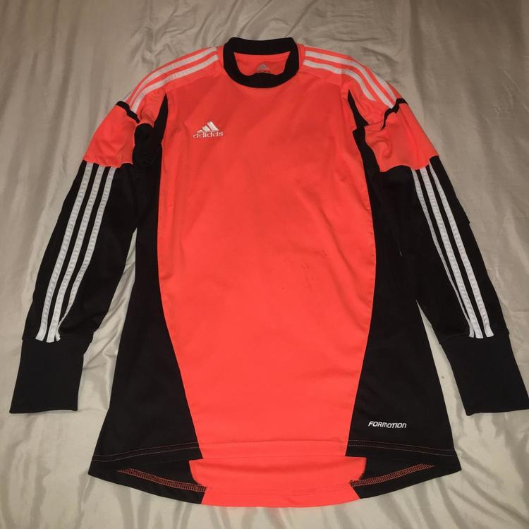 743c759897b Adidas Orange Goalkeeper Jersey (Adult Small)