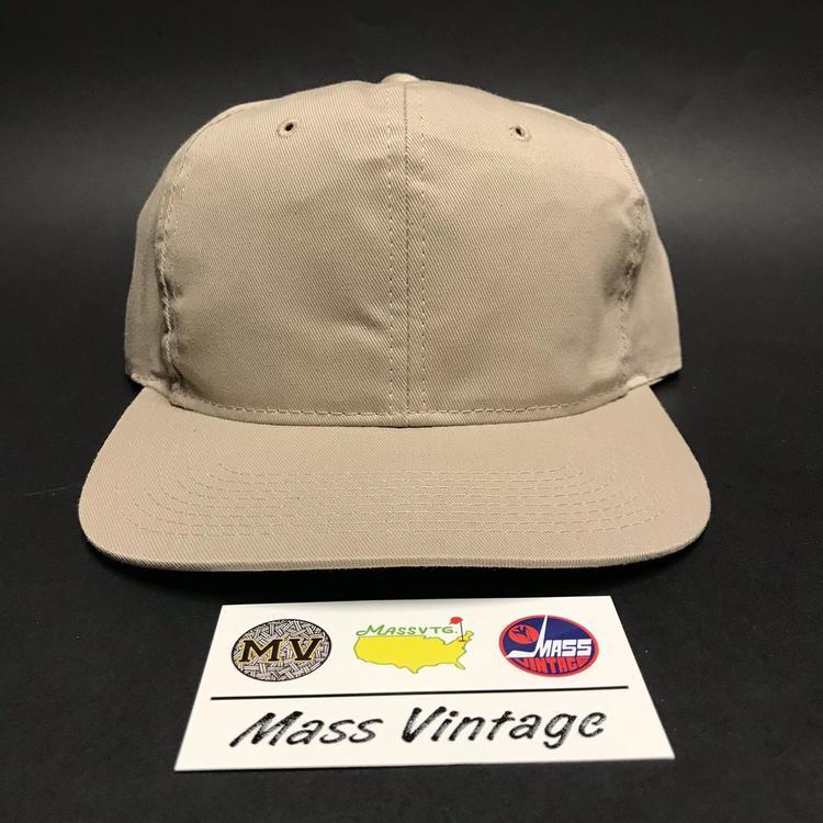 b83e028e678 VTG Tan Blank Youngan Snapback Hat - EXPIRED