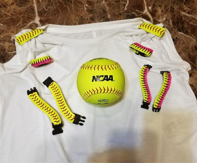 Real Softball Shirt Tie-Backs