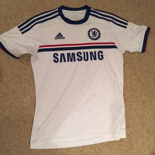 the best attitude 941ef 962ce Adidas Chelsea Samsung Soccer Jersey