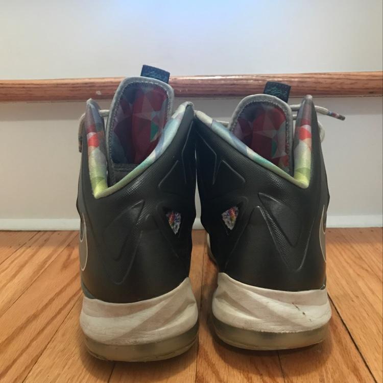 best website fbce2 e709d Nike LeBron X Prism   Basketball Footwear   SidelineSwap