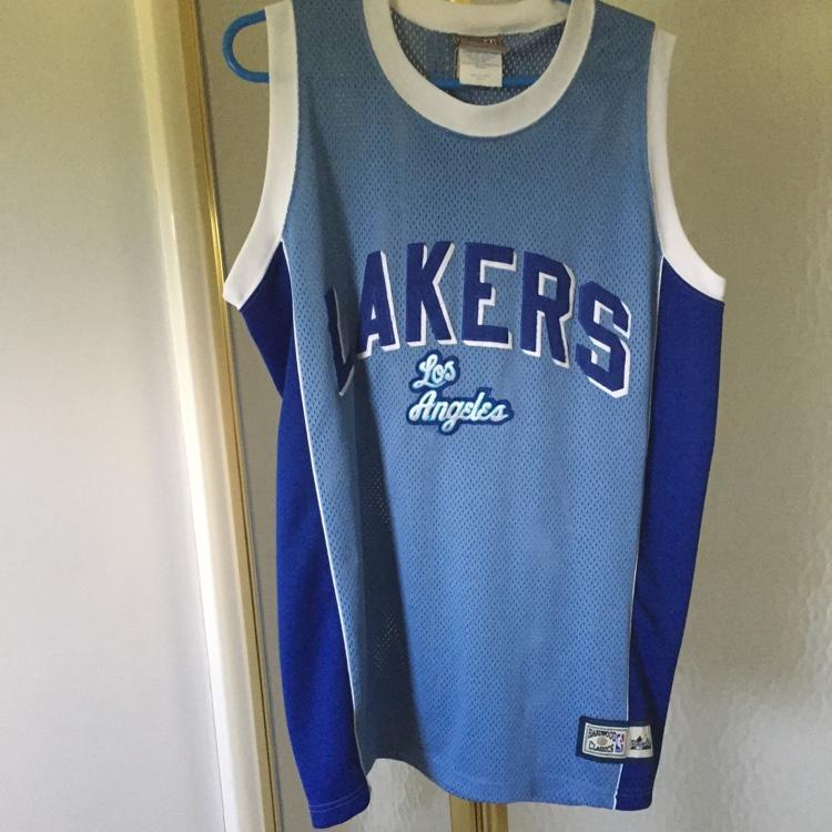 super popular 82e63 ef754 Lakers Retro Hardwood Classics Jersey