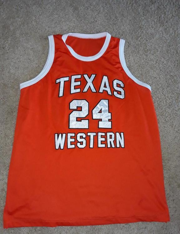 wholesale dealer ac393 9e9e9 Texas Western/UTEP Miners Jersey Willie Worsley #24
