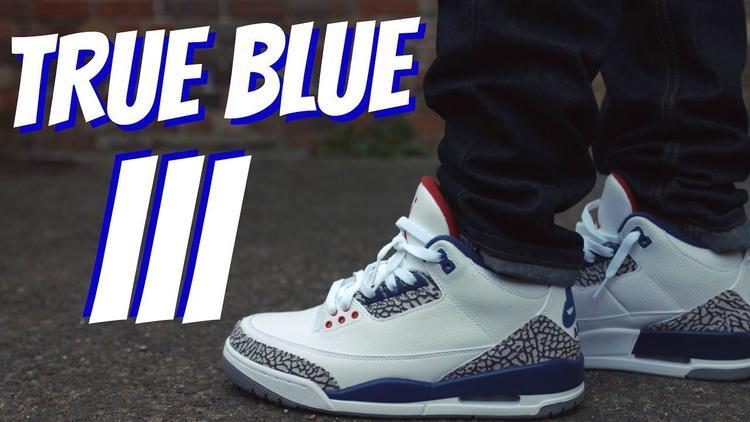 e8813abb6071 Air Jordan 3 Retro True Blue - EXPIRED
