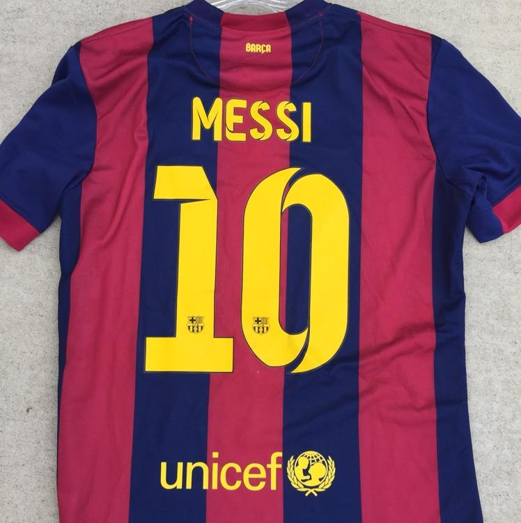 new product b8f72 616f6 Lionel Messi FC Barcelona Jersey- Size Large