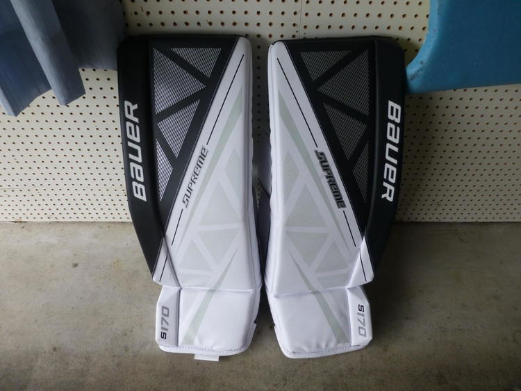 Bauer Supreme S170 Leg Pads Senior | SOLD | Hockey Goalie