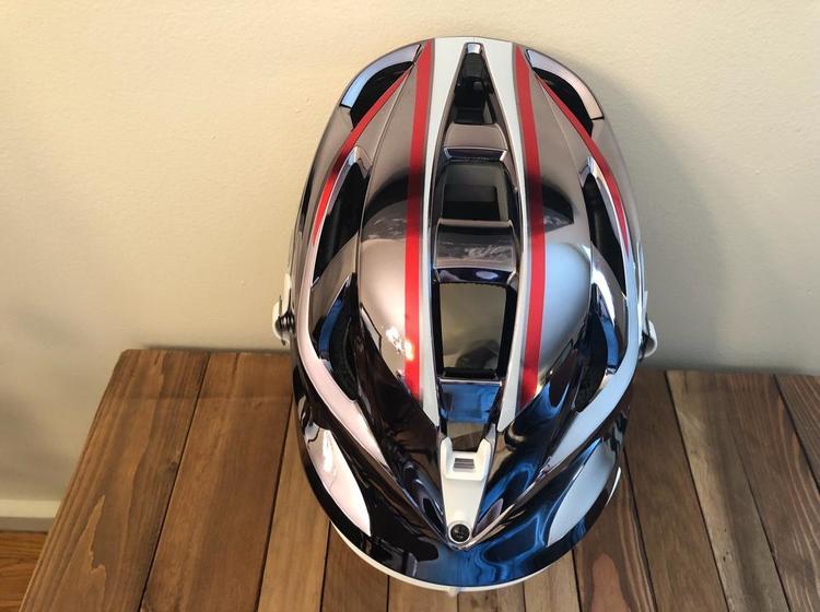 Cascade Graph Tex Gunmetal S Sold Lacrosse Helmets