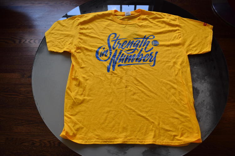 first rate bc837 6bc9e NBA Finals 2018 Game 2 Warriors Giveaway Shirt