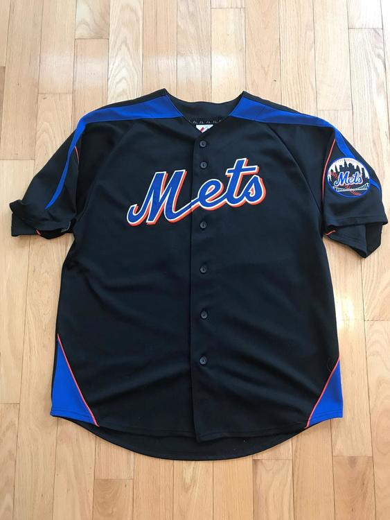 separation shoes 3c533 f3c42 New York Mets David Wright #5 Jersey - Size L - Majestic Athletic