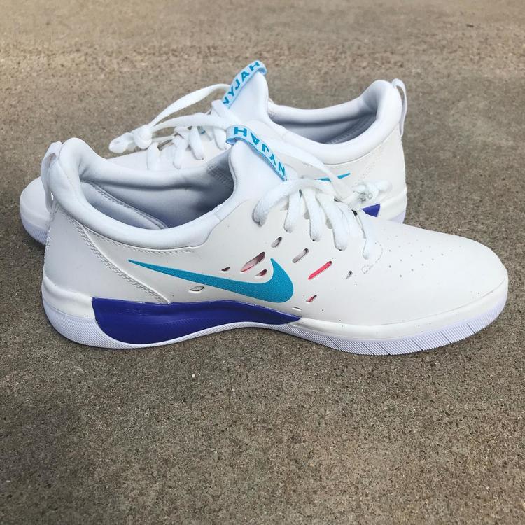 Nike SB Nyjah Free Summit White/Solar