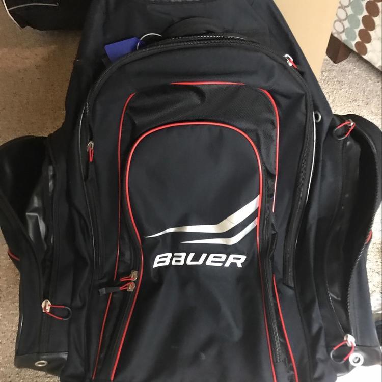 Bauer Wheeled Backpack Hockey Bag