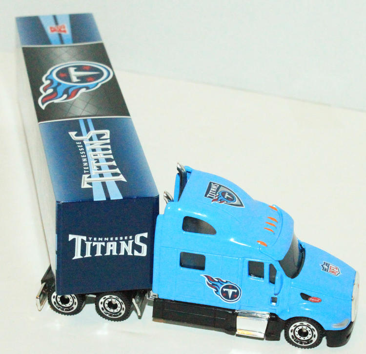 Nfl Toy Trucks : Pcs one case tennessee titans nfl semi toy truck