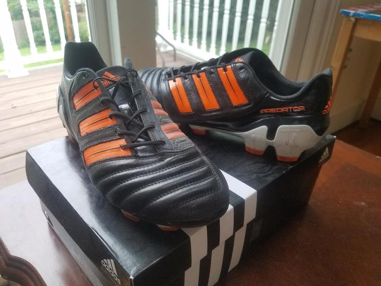 cheap for discount 79759 7658c Adidas Predator Adipower sz 10 us   Soccer Cleats   SidelineSwap