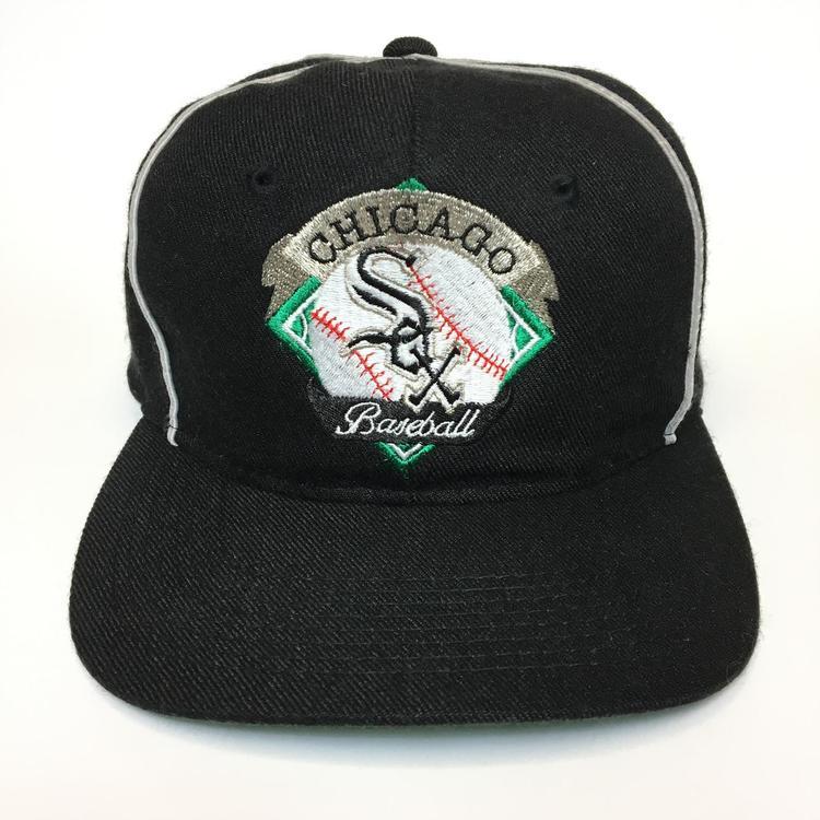 Vintage Chicago White Sox Snapback Hat  b0b655798bb