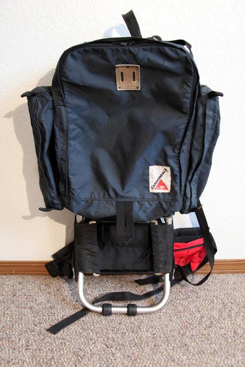 5b11383c9 Vintage Cannondale External Frame Backpack hiking camping ...