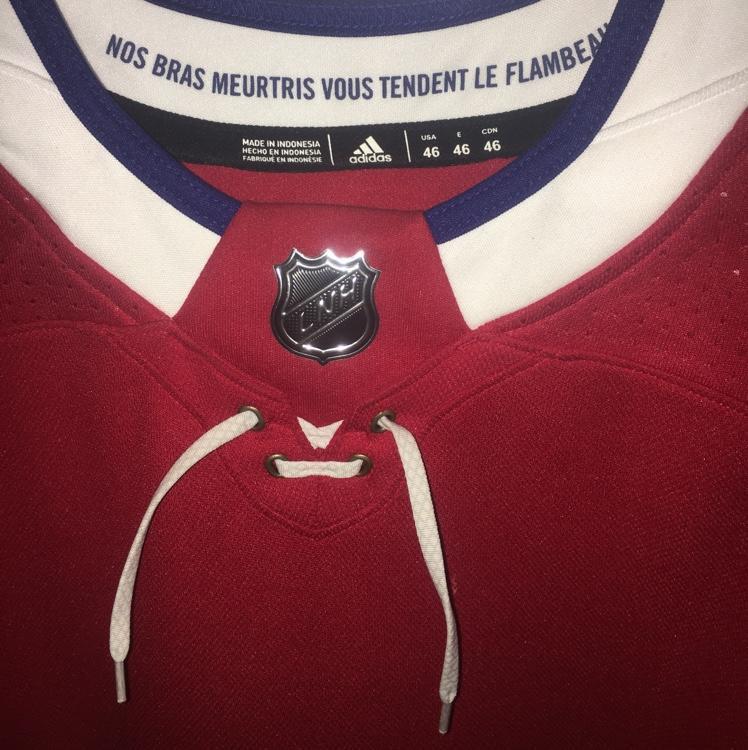 b6d0b93db53 Adidas Carey price Montreal Canadiens Size 46 Jersey