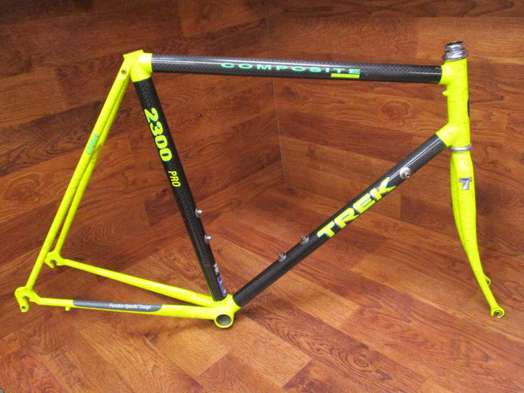 0923e781b26 Trek VINTAGE 2300 PRO COMPOSITE CARBON ROAD BIKE FRAME SET 58 CM | Bikes  Frames | SidelineSwap