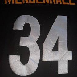 7b0d924219b Pittsburgh Steelers Jersey Rashad Mendenhall #34 Size 54   Football ...