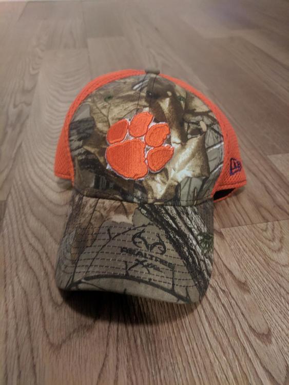 lowest price 07e5d afd7a ... australia clemson tigers realtree camo hat a4977 b5452