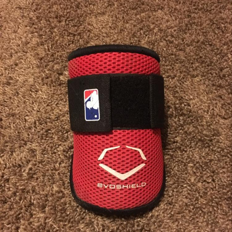 Evoshield Red Elbow Guard Sold Baseball Batters Helmets