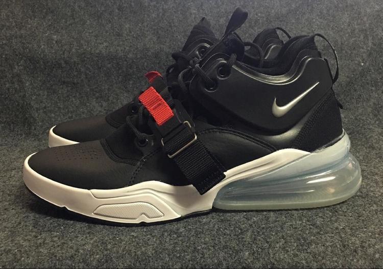 d7d4a1fc8 Nike Men s AIR FORCE 270 Shoes Black Metallic Silver White AH6772-001 Mens