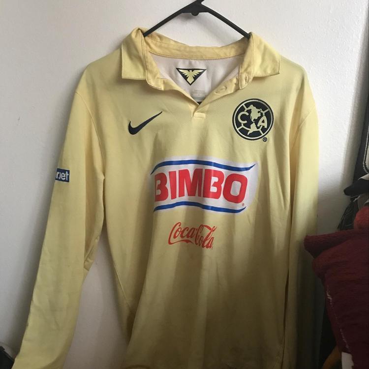 new style 85ac2 fff1f Club America Long Sleeve Jersey