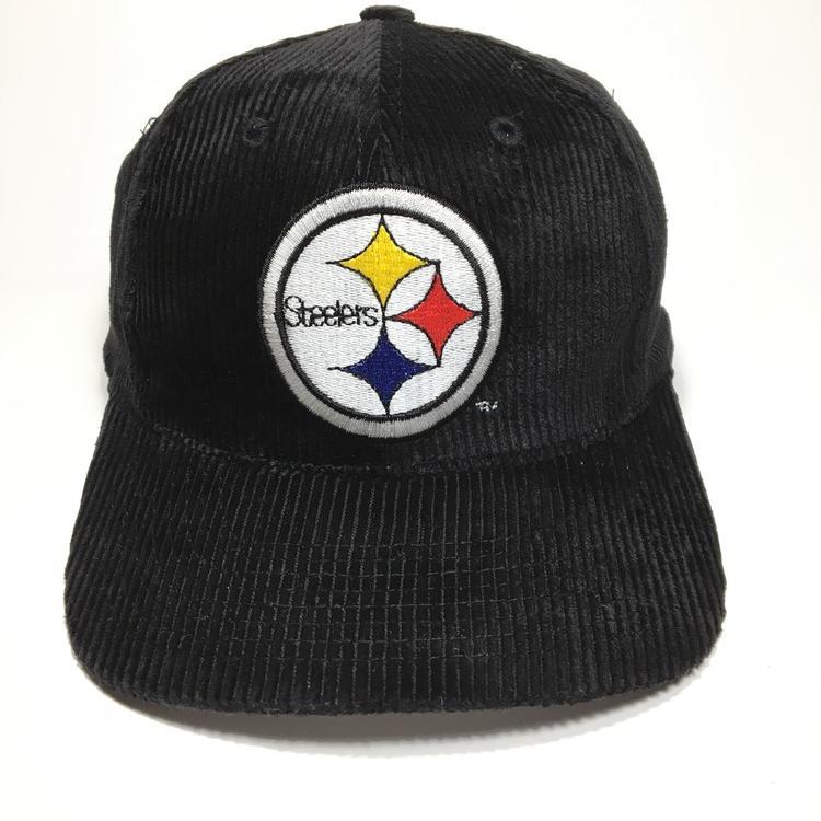 Vintage Pittsburgh Steelers Corduroy Snapback Hat  46d77714a77