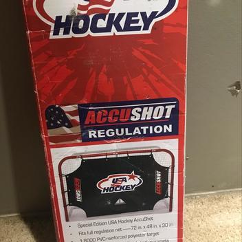 "Hockey ACCUSHOT Shooting Target 72"" - EXPIRED 2359b833f"