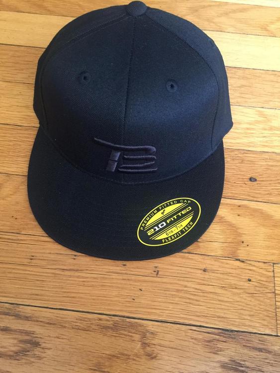 11d3a01a450 RARE TOM BRADY TB12 HAT Limited Edition BLACKonBLACK - EXPIRED