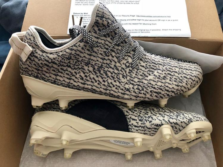 ded32da5a1865 ... reduced adidas yeezy 350 cleats boost kanye football lacrosse sold  5ec04 1115a