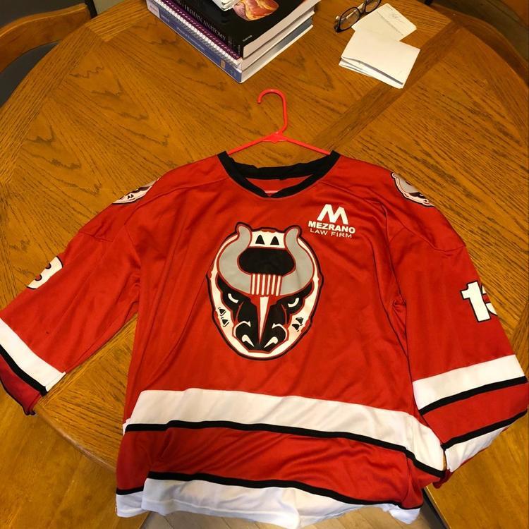 Birmingham Bulls Jersey SPHL - SOLD c09ebe02157