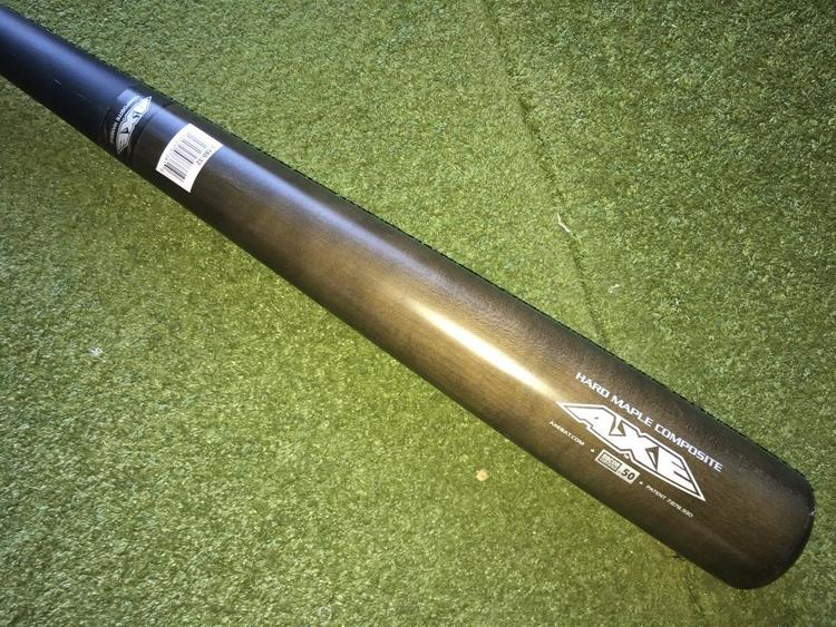 Louisville Slugger Axe L180 Hard Maple Composite Wood Bat