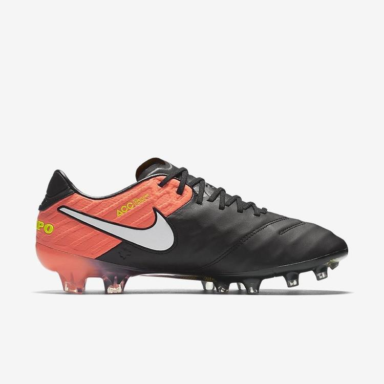 best service 56f6c fc6a6 Nike Tiempo Legend VI 6 FG sz 11 Black Hyper Orange 819177 018 ACC Vapor  Superfly   Soccer Cleats   SidelineSwap