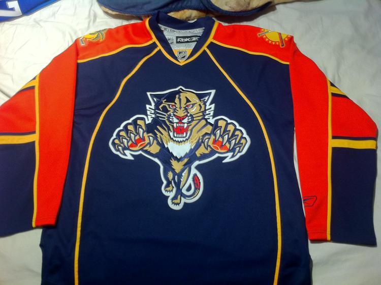 size 40 657ca 247a9 Reebok Premier Florida Panthers 2007-2011 jersey