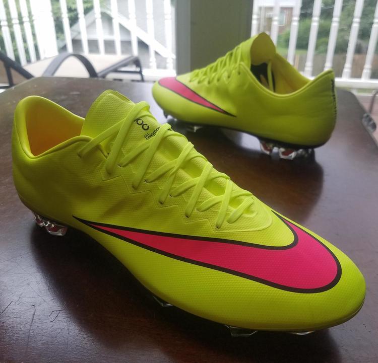 pretty nice d4a97 0b5ec New Nike Mercurial Vapor X fg sz 10