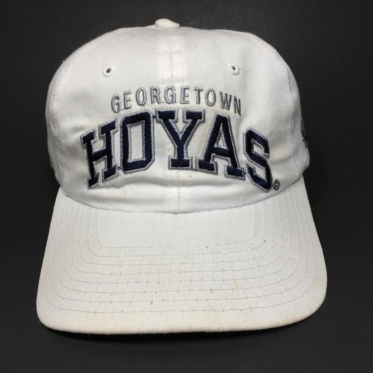 reputable site 7cbbb 88f3f Vintage Georgetown Hoyas Starter Snapback Hat. Related Items