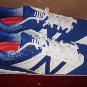 870d3042cae1 Adidas DUAL THREAT CLEATS 8 METAL SPIKES GREY MID-CUT LITESTRIKE 8.0 BRAND  NEW $100 MID | SOLD | Baseball Footwear | SidelineSwap