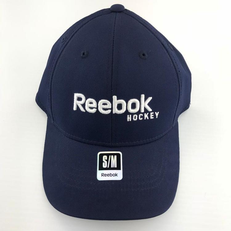 REEBOK HOCKEY CAP HAT NAVY SMALL MEDIUM FLEX - EXPIRED 4f33c9123e3