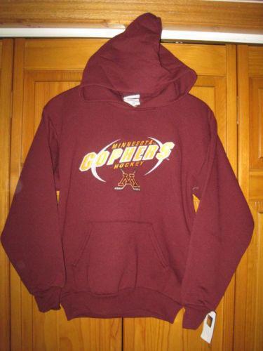 b6b5b4bdf Minnesota Golden Gophers hockey sweatshirt hoodie kids boys XL maroon NWT  NEW
