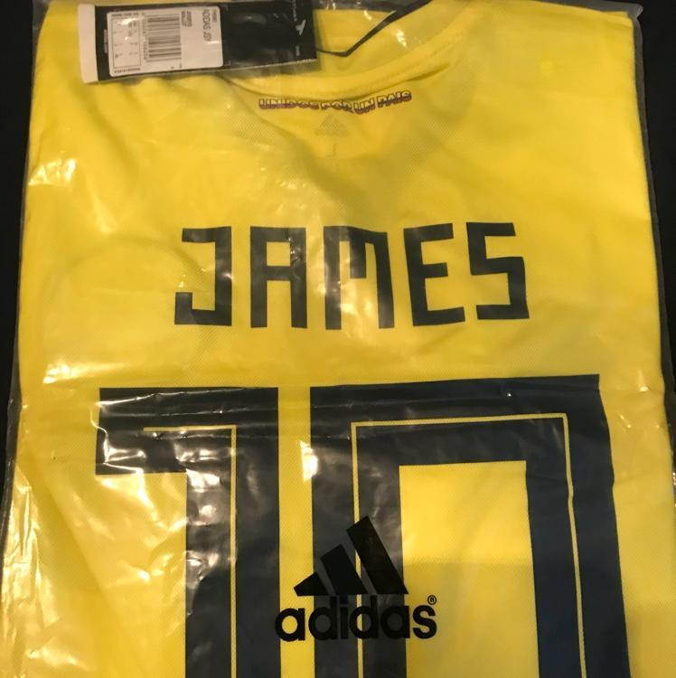 brand new 7d548 e3232 James Rodriguez Brand New Columbia Jersey