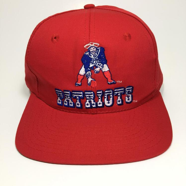 finest selection 315d4 360b3 Vintage New England Patriots Snapback Hat
