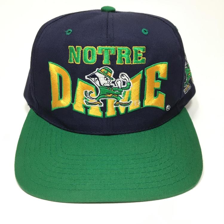 2b8ea097aa32d Vintage Notre Dame Snapback Hat. Related Items
