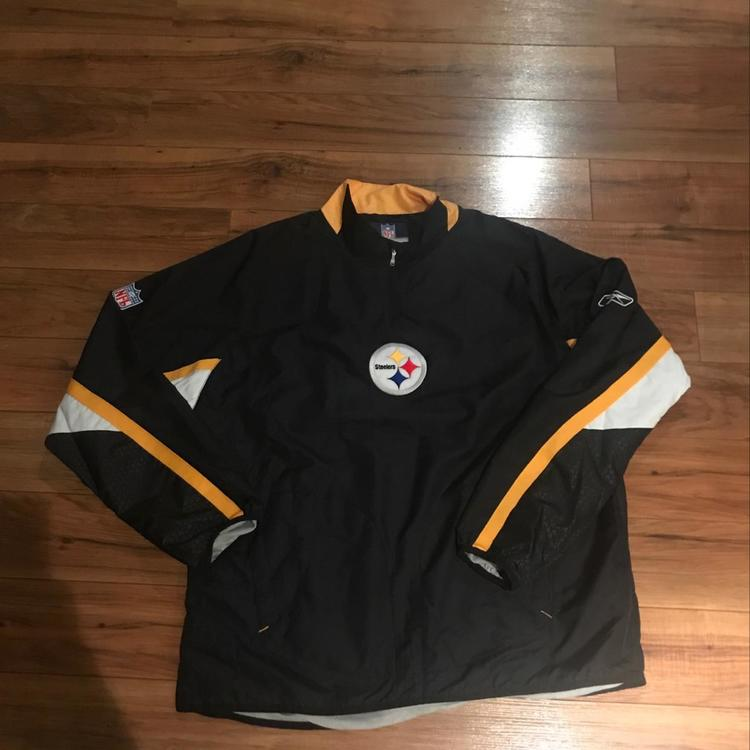 1b0dcf471 Pittsburgh Steelers Reebok Jacket XL. Related Items