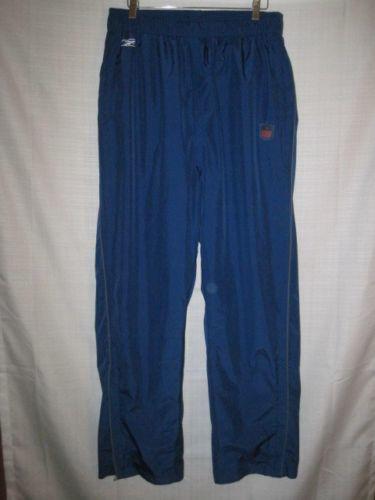 National League Reebok NFL Equipment Waterproof Rain Pants XL blue ... e1002c175db4