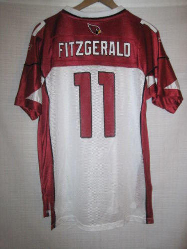 f7098f536 Arizona Cardinals Larry Fitzgerald jersey kids boys XL 18 20 Reebok ...