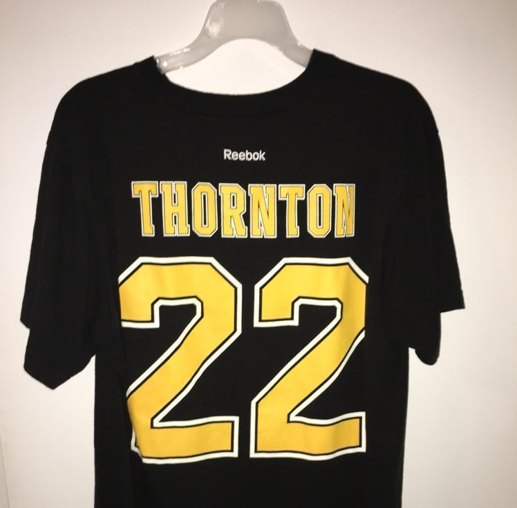dfbd6c62201 Reebok Boston Bruins Shawn Thornton #22 Player Shirt Mens Large | SOLD | Hockey  Apparel, Jerseys & Socks | SidelineSwap