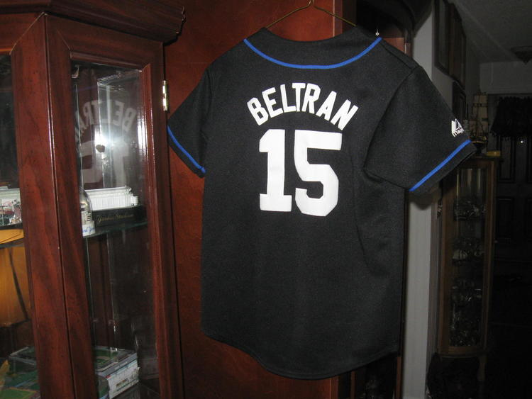 buy online 1c8a6 6f9b6 NY METS YOUTH MAJESTIC CARLOS BELTRAN ALTERNATE JERSEY(M) EMBRIODED!