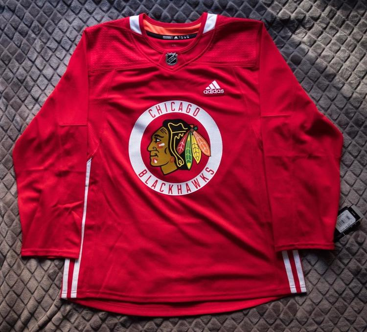6068f1cc9 Chicago Blackhawks NHL Adidas Authentic Jersey Size 54 Red New With Tags -  SOLD