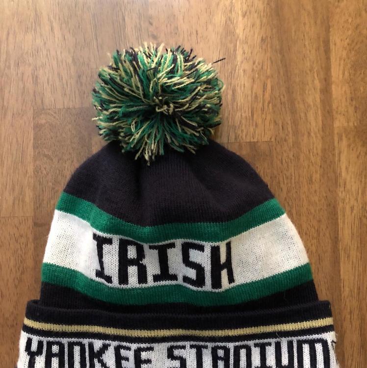 eea3dd335c2bcd Notre Dame Fighting Irish Yankee Stadium Winter Hat | SOLD ...