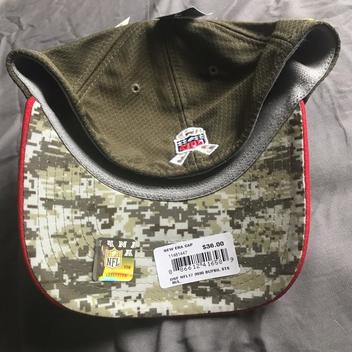 sale retailer a78b9 5921e Buffalo Bills Salute to Service Hat M/L